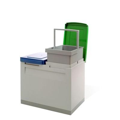 Odpadkový kôš na triedený odpad EKOMODUL 2x15 l