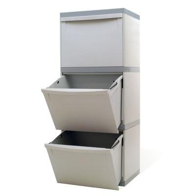Odpadkový kôš na triedený odpad EKOMODUL 3x30 l