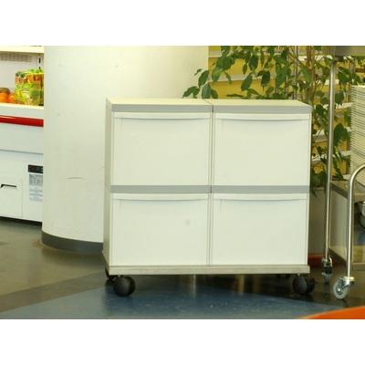 Odpadkový kôš na triedený odpad EKOMODUL 4x30 l