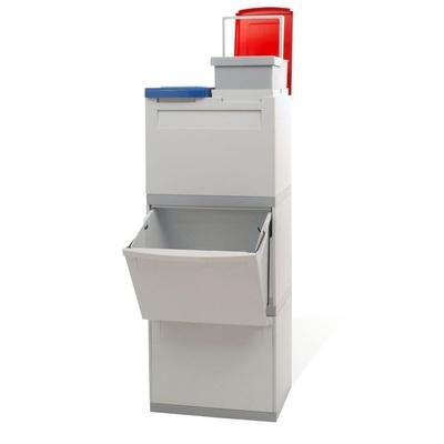 Odpadkový kôš na triedený odpad EKOMODUL 2x30 l + 2x15 l