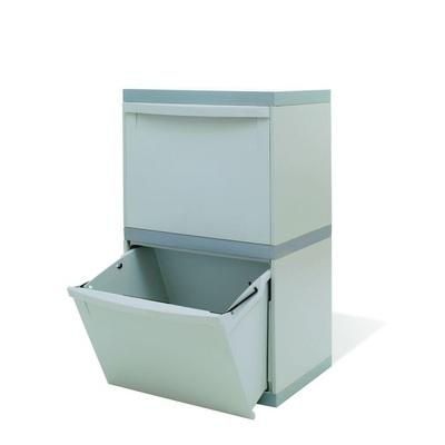 Odpadkový kôš na triedený odpad EKOMODUL 2x30 l