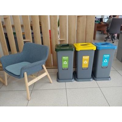 Odpadkový kôš na triedený odpad TRIO