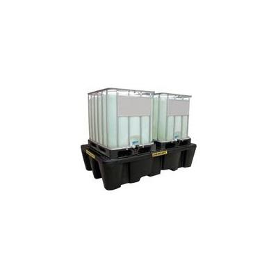 Záchytná vaňa s roštom pod 2 IBC kontajnery