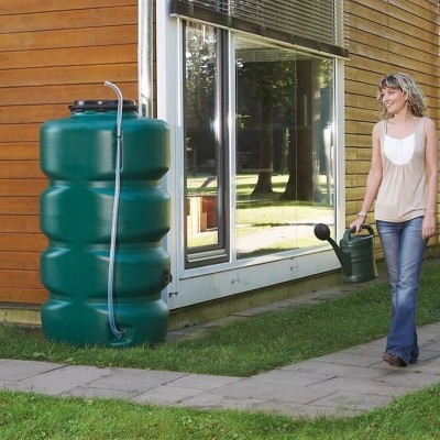 Nádrž na dažďovú vodu GARTENTANK 750 l, zelená