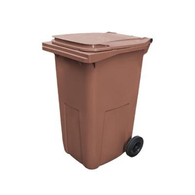 Plastová nádoba na odpad  ELKOPLAST 240 l - hnedá C