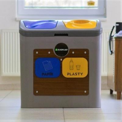 Odpadkový kôš na triedený odpad Smart