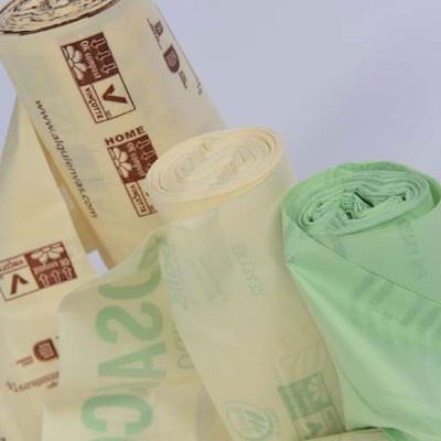 Kompostovateľné vrecká na kuchynský odpad ECOBAG 10 l