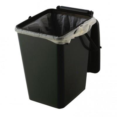 Kôš na kuchynský odpad Biolyne 10 l, hnedá
