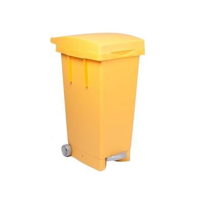 Pedálový odpadkový kôš na triedený odpad BIGTATA 80 l