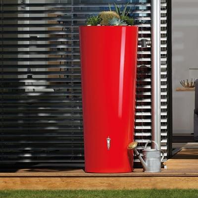 Nádrž na dažďovú vodu Vega 350 l, červená