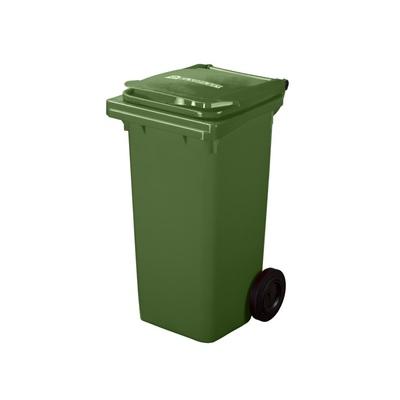 Plastová nádoba na odpad  ELKOPLAST 120 l - zelená C
