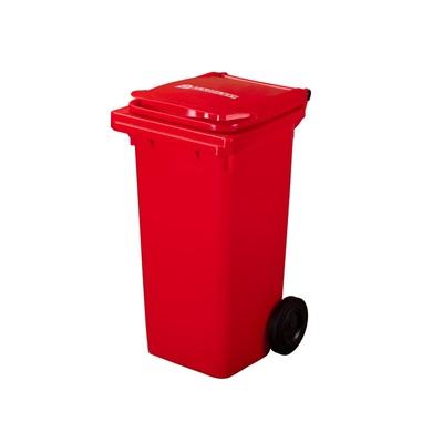 Plastová nádoba na odpad  ELKOPLAST 120 l - červená C