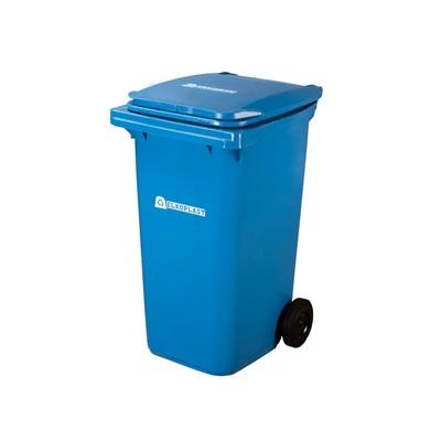 Plastová nádoba na odpad  ELKOPLAST 240 l - modrá C