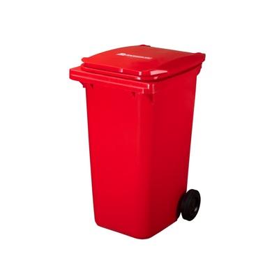 Plastová nádoba na odpad  ELKOPLAST 240 l - červená C
