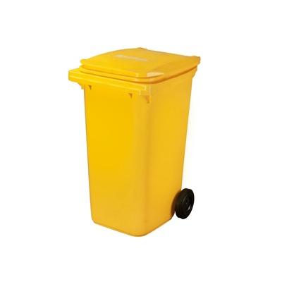 Plastová nádoba na odpad  ELKOPLAST 240 l - žltá C