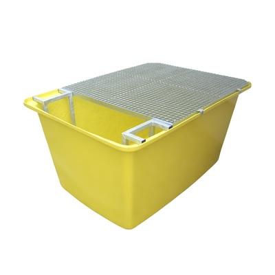 Záchytná vaňa pod IBC kontajner, sklolaminátová