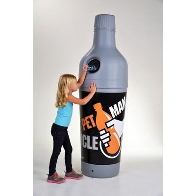 Odpadkový koš 210 l na PET fľaše