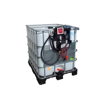 Nádrž na naftu s IBC kontajnerom, FDI 1000 - 230 V