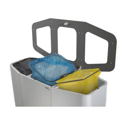 Odpadkový kôš na triedený odpad MUNICH 160 l (3 koše)