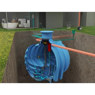 Podzemná nádrž na vodu NEPTUN 6 m3