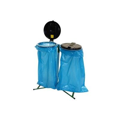 Stojan na odpadkové vrecia 120 l klasický