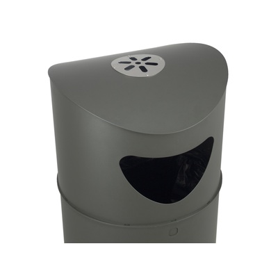 Odpadkový kôš OSLO 75 l s popolníkom
