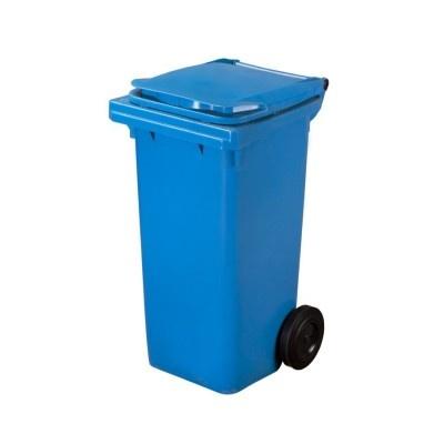 Plastová nádoba na odpad  ELKOPLAST 120 l - modrá C