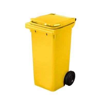 Plastová nádoba na odpad  ELKOPLAST 120 l - žltá C