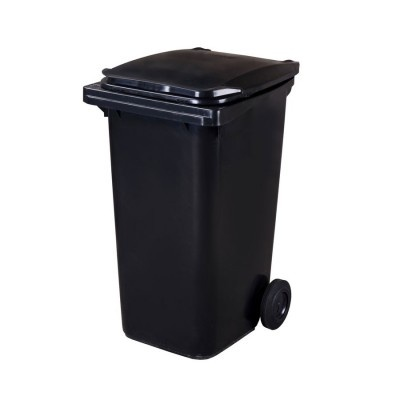 Plastová nádoba na odpad  ELKOPLAST 240 l - čierna C