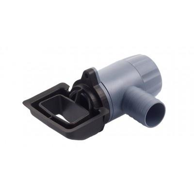 Zberač dažďovej vody pre hranaté zvody, na rýchlomontáž bez filtra