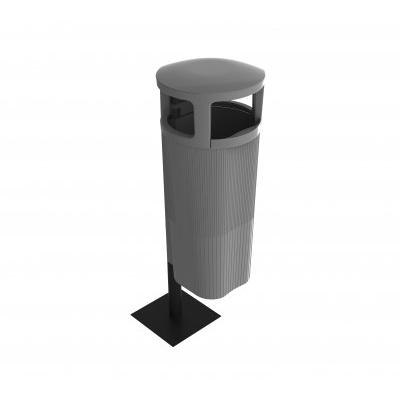 Vonkajšie odpadkové koše ATRIUM 50 l