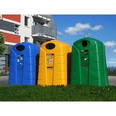 Polyethylenový kontajner na triedený odpad, papier, typ P