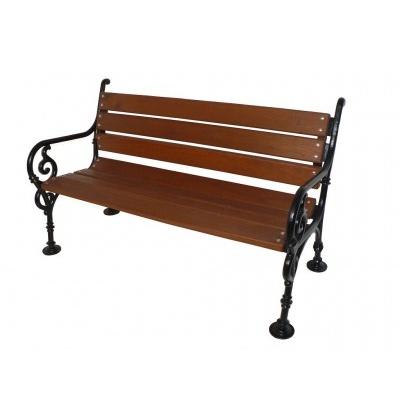 Liatinová lavička Schonbrunn