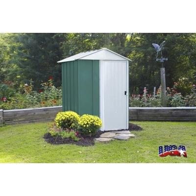 Záhradný domček ARROW DRESDEN 54 zelený