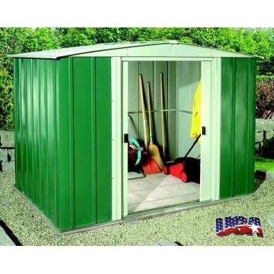 Záhradný domček ARROW DRESDEN 86 zelený